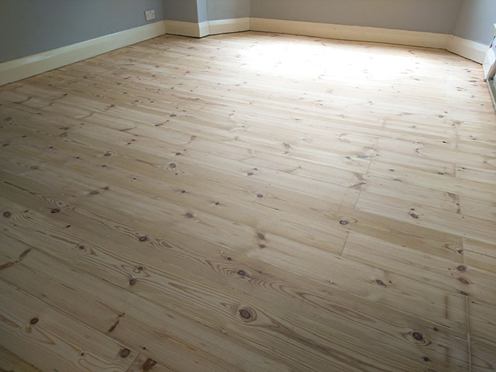 Pine flooring Balham