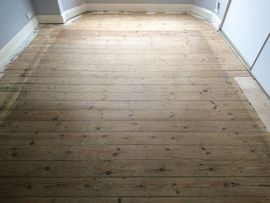 Pine Flooring Restoration Balham