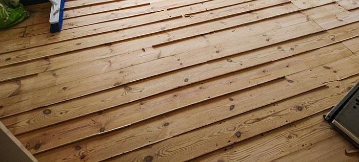 Pine Floor Sanding Balham